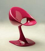 1968 Kunststoffstuhl LOOP