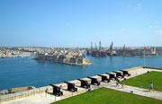 Das Fort von Valletta, gewissermassen in der Unterstadt