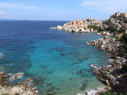 Blick auf den Capo Testa den nördlichsten Punkt von Sardinien