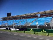 Melbourne baut die Infrastruktur auf für das Formel 1 Autorennen