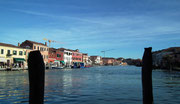 Nochmals einen schönen Blick auf den breiten Hauptkanal von Murano