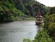 Das Gebiet hat auch einen idyllischen See