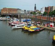 Der kleine Bootshafen u.a. auch für Ausflugsboote für Hafenrundfahrten