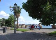 Aufnahme aus dem Städtchen Alghero, dem westlichsten Punkt von Sardinien