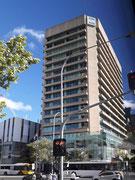 Das Geschäftsgebäude des Technologie- und Architektur-Dienstleistungsunternehmens GHD
