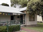 Das ehemalige Spital von Wellard (Nähe Perth) wurde 1930 ab- und hier neu aufgebaut