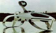 1973 Modell eines Hydrofoil-Wasserflugzeugs mit optimaler Aussichtskanzel