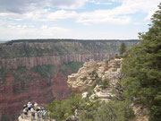 Blick in den Grand Canyon North Rim