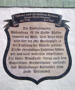 Übrigens erwähnenswert: Die älteste Klosterbrauerei der Welt !