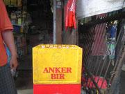 Das Anker-Bier in der Schweiz ist keine Import, sondern von der Feldschlösschen-Brauerei