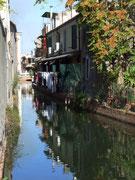 Hübsche schmale Kanäle als «Zufahrtstrassen»
