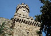Teil der alten Stadtmauer von Rhodos