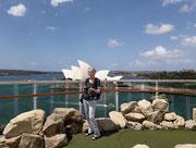 Blick vom «Golf-Platz» auf das «Opera House»