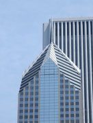 Perfekte Architektur bis auf die Spitze