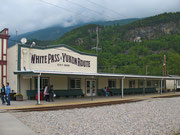 Main Station der «White Pass & Yukon Route»