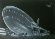 1970 Entwurfszeichnung Airplane
