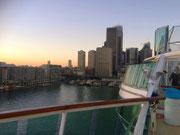 Die «Skyline» am Hafen