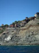 Alte verlassenen Erz-Minen-Anlagen . . .