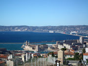 Von dort oben hat man einen herrlichen Blick auf die Stadt