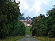 Blick auf den «Herkules» und das Schloss «Wilhelmshöhe»