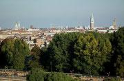 Schöner Blick über das grüne Venedig