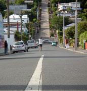 die weltberühmte «Baldwin-Street» in Dunedin