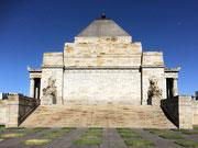 Der «Shrine of Remembrance» das größte australische Kriegsdenkmal für den 1. Weltkrieg