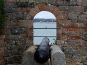einer alten Befestigungsanlage