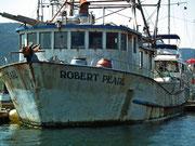 Dieses Schiff war am frühen Morgen noch auf Fischfang