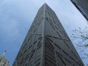 Da wollen wir am Abend hin, zur Aussichtsplattform auf dem Hancock Tower