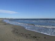 mit einem langen und ebenso gepflegten Strand
