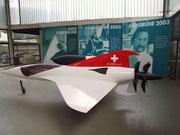 Entwurf für einen Turboprop-Jet (Doppelpropeller im Heck, Patent Colani)