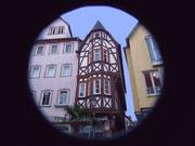 Das Zobel'sche Haus gilt als des schmalste Haus in Franken