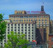 Das weltberühmte «Peabody Hotel» das auf dem Dachgeschoss eine Entenfamilie beherbergt.