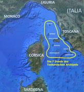 Elba ist eine der 7 Inseln des Toskanischen Archipels