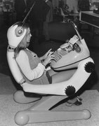 1968 Dactylo-Arbeitsplatz
