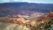 Eine etwas breitere Stelle des Grand Canyon