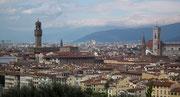 oder über die Dächer von Firenze (wie Florenz italienisch heisst)