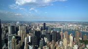 ...auf das «unendliche» Manhattan.