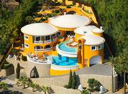 1994 Designer-Villa für den Fürsten von Sayn-Wittgenstein . . .