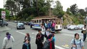 Cable Cars gehören seit Jahrzehnten zum Strassenverkehr