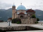 Die Klosterkirche auf der Insel wurde von Mönchen gegründet