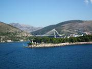 . . .und schönstem Wetter Dubrovnik