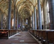Blick ins Innere der Kirche