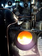 Der Brennofen wartet auf Kohle
