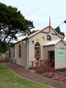 Die Methodisten-Kirche wurde im Jahre 1895 erbaut und wird heute noch für Hochzeiten genutzt