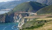 Die wunderschöne Küstenstrasse #1 südwärts ab San Francisco