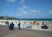 Ein Muss auf jedem Sydney-Trip ist ein Ausflug zum Bondi Beach . . .