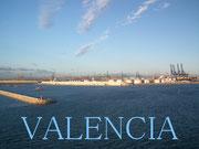 Einfahrt in den Hafen von Valencia