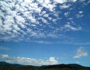 Auch mal in den Himmel schauen